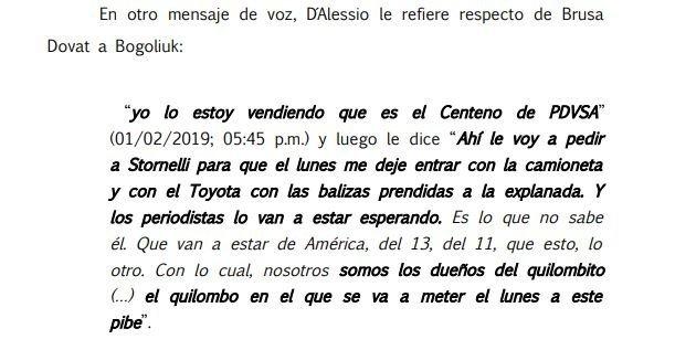 Resolución juez federal de Dolores, Alejo Ramos Padilla.