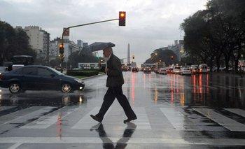 Clima: día con tormentas en Capital Federal | Clima