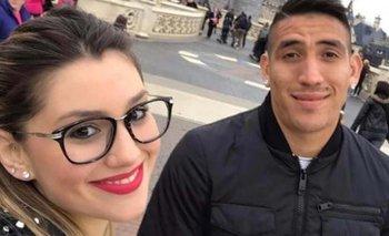 Centurión publicó en las redes una foto con su novia | Fútbol argentino