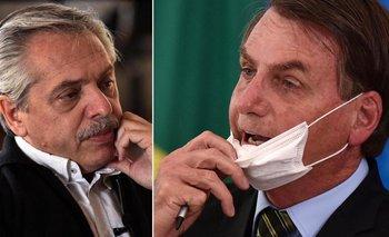 Alberto consideró que la actitud de Bolsonaro es un peligro | Coronavirus