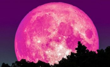 Se viene la luna rosa: ¿Cuándo podrá verse en Argentina? | Astronomia