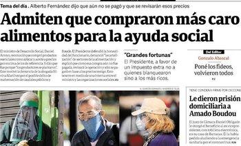 La polémica tapa de Clarín contra Boudou  | Clarín