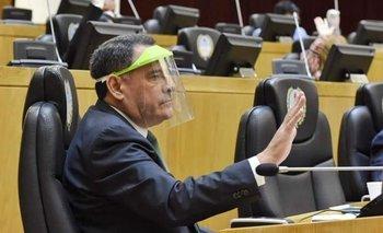 Legisladores usaron mascarillas que eran para los médicos | Tucumán