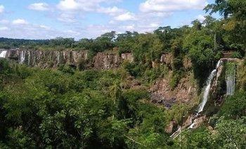 Histórica sequía en las Caratas del Iguazú durante la pandemia | Cataratas del iguazú