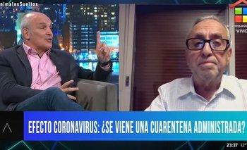 El fuerte cruce entre Pedro Cahn y Espert | Coronavirus en argentina