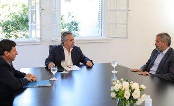 Alberto se reunió con Pérez Companc por los alimentos   Alberto fernández