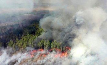 Incendios en Chernobyl se acercan a depósitos radioactivos | Chernobyl