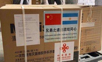 Llegaron insumos desde China con una cita del Martín Fierro | Coronavirus en argentina