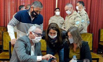Frederic y Zamora supervisaron controles por coronavirus | Pandemia