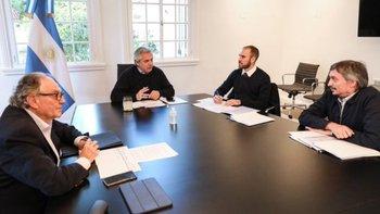 Alberto se reunió con Máximo por el impuesto a las fortunas | Alberto fernández