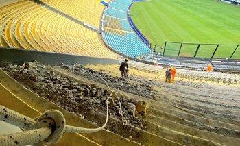 Comenzó la ampliación de La Bombonera | Boca juniors