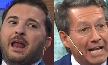 Tremenda pelea entre Brancatelli y Reato al aire | Medios