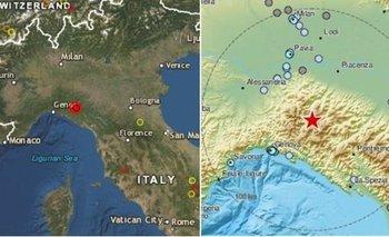 Terremoto en Italia, en la zona más afectada por coronavirus    Italia