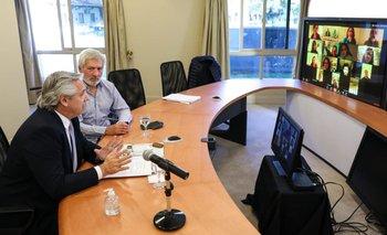 Alberto se reunió con legisladores porteños del FdT | Coronavirus en argentina