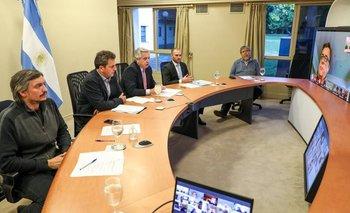 Cumbre virtual de Alberto con diputados en Olivos | Impuesto a la riqueza