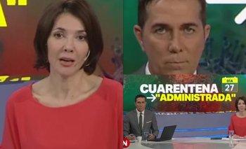 El blooper de Cristina Pérez que es furor en redes   Telefé noticias