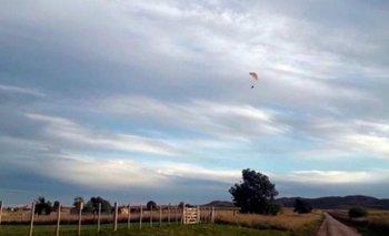Un jubilado rompió la cuarentena para volar en parapente | Jubilados