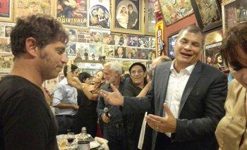El día en el que Fontova cantó con Correa y Kicillof | Video