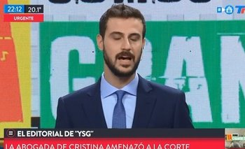 Escandalosa fake news de Diego Leuco contra Peñafort | Diego leuco