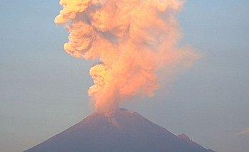 Las impactantes imágenes del volcán Popocatépetl   Fenómenos naturales