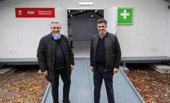Alberto visitó un hospital junto a Jorge Macri | Coronavirus en argentina