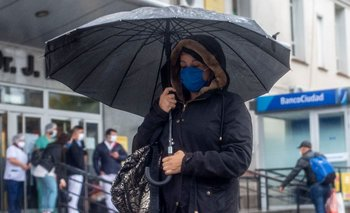 Después de la lluvia, salió el arcoiris en Buenos Aires | En twitter