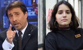 Insólito: Feinmann felicitó en vivo a Ofelia Fernández | Televisión