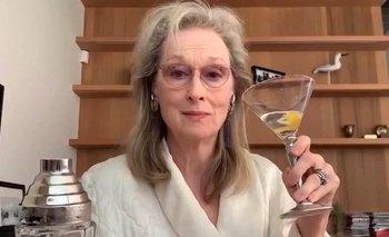 Cuarentena: Meryl Streep se emborracha con amigas por Zoom   Pandemia