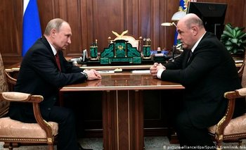 El primer ministro de Rusia confirmó que tiene coronavirus   Coronavirus