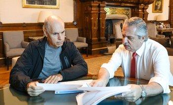 Alberto escuchó la propuesta aperturista de Larreta para CABA | Coronavirus en argentina