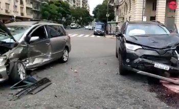 Más problemas en Boca: Campuzano chocó con un policía | Boca juniors