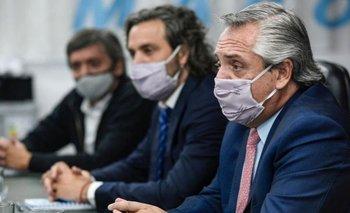 Los funcionarios que deben aislarse por contacto estrecho con Alberto | Coronavirus en argentina