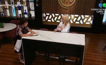 El palito de María O'Donnell a Claudia Villafañe en MasterChef | Maria o' donnel