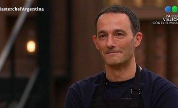Fernando Carlos es el sexto eliminado de MasterChef Celebrity   Masterchef celebrity