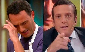 MasterChef: el enojo de Mauro Szeta tras la eliminación de Fernando Carlos   Masterchef celebrity