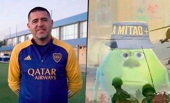 Explotaron los memes por la breve reaparición de Riquelme en Boca | Boca juniors