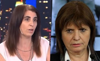 Rosario Ayerdi apuró a Patricia Bullrich en vivo y le tapó la boca | Patricia bullrich
