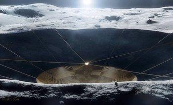 La NASA impulsa levantar un telescopio en la cara oculta de la Luna | Espacio exterior