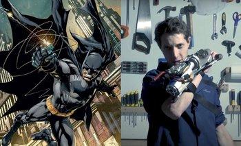 Como Batman: este estudiante fabrica su propio gancho de agarre | Virales