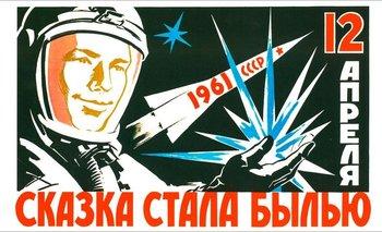Yuri Gagarin, a 60 años de convertirse en el primer cosmonauta | Efemérides