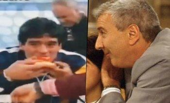 El día que Mauro Viale le llevó una pizza a Maradona y todo se descontroló   Mauro viale