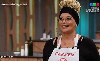 ¡Al fin! Carmen Barbieri volvió a MasterChef Celebrity   Masterchef celebrity