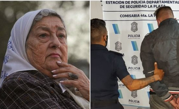 Asalto y tiroteo en frente a la casa de Hebe de Bonafini en La Plata | Hebe de bonafini