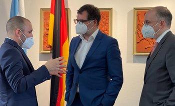 Guzmán se reunió con el secretario de Finanzas de Alemania por FMI | Deuda con el fmi