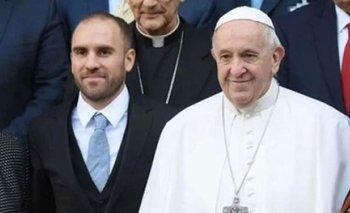 Martín Guzmán se reunió con el Papa Francisco: de qué hablaron   Martín guzmán