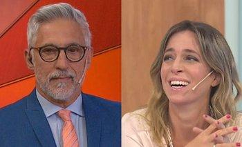 La terminante reacción de Gil Vidal ante los piropos de Sandra Borghi | Televisión