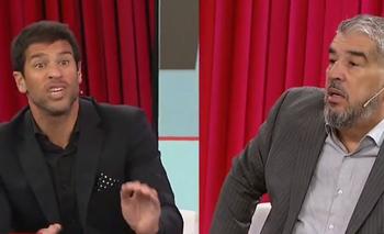 El fuerte cruce entre Seba Domínguez y Chavo Fucks por River y Boca | Televisión