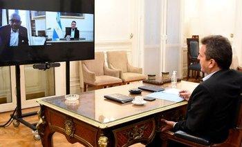 Sergio Massa se reunió con un funcionario de Biden | Relación argentina - eeuu