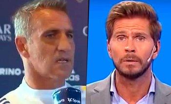 """Cascini rompió el silencio y le contestó al Pollo Vignolo: """"Sé lo que es""""   Boca juniors"""