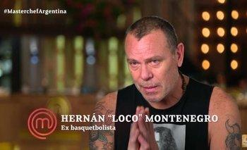 Se fue el Loco Montenegro de MasterChef Celebrity | Masterchef celebrity